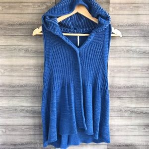 Free People | Knit Hooded Vest